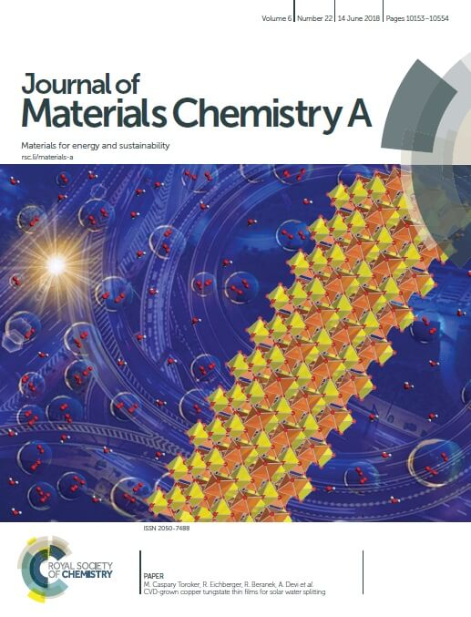 Coverpage- Journal of Materials Chemistry A