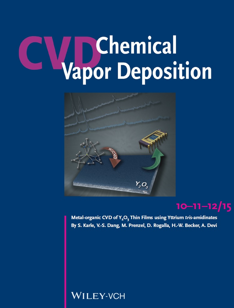 Chemical Vapor Deposition Cover Page