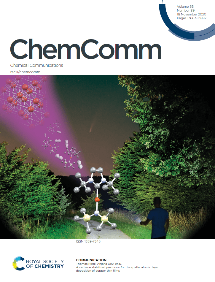 Cover Page ChemComm