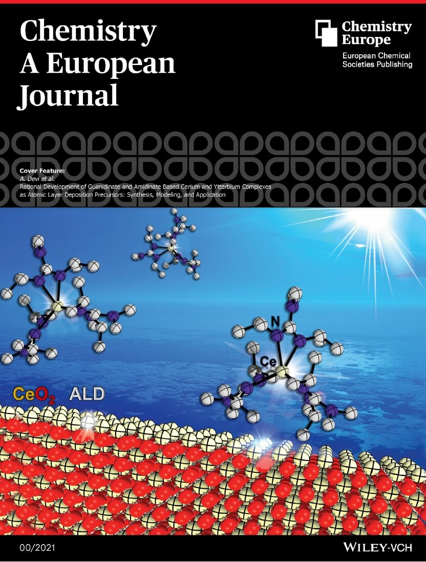 Cover Page Chemistry A European Journal