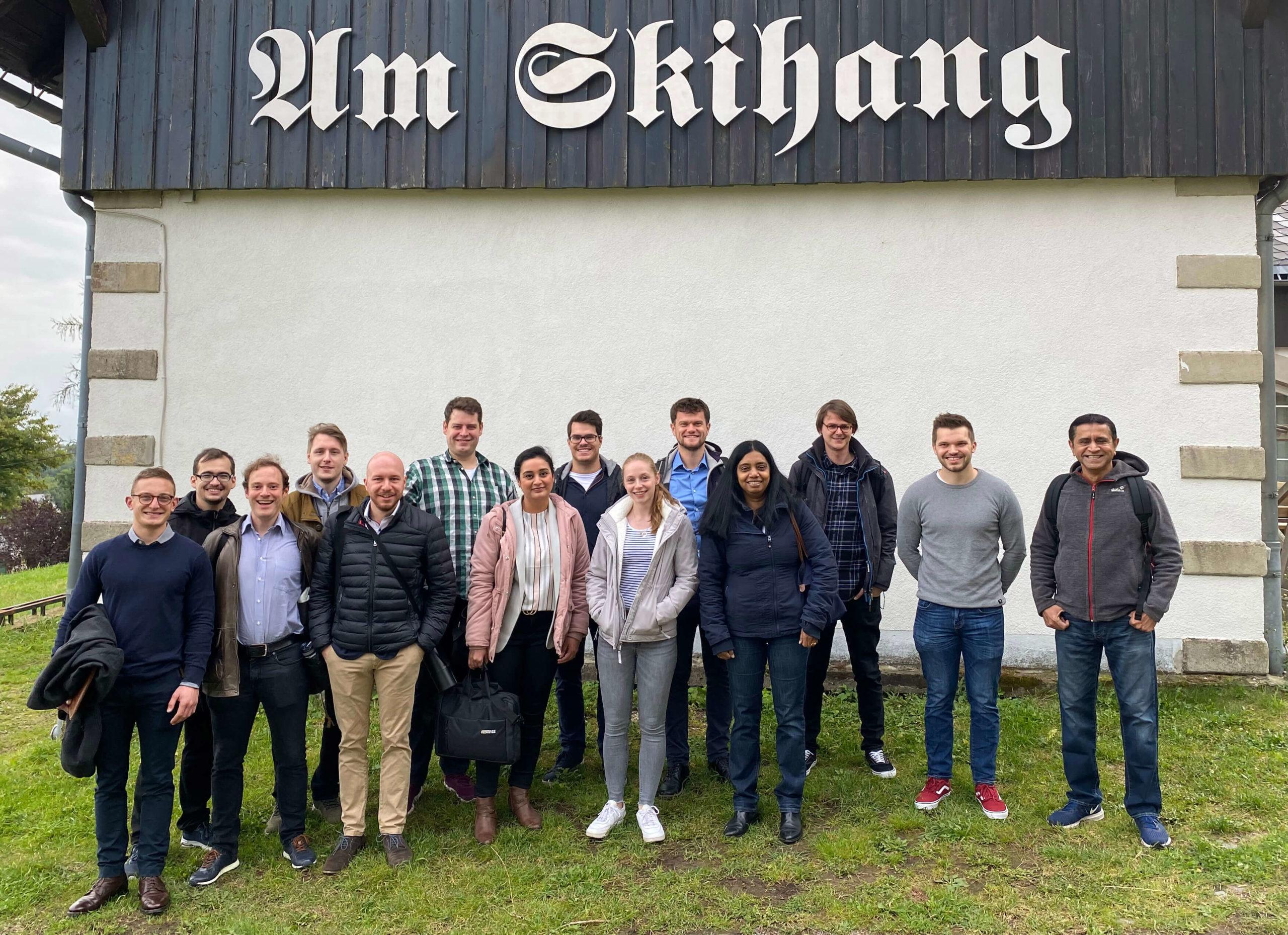 Group photo Altenberg
